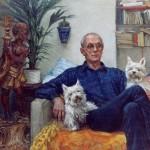Sandy Morris: Oil on canvas. Size: 30 x 30in (51 x 76cm)