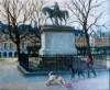 Paris, Place des Vosges, 16 x 12 ins (£650).
