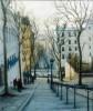 Montmartre Steps, Paris, 13 x 11ins (700).