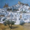 Andualucia, Spain, 30 x30 ins (£1500).